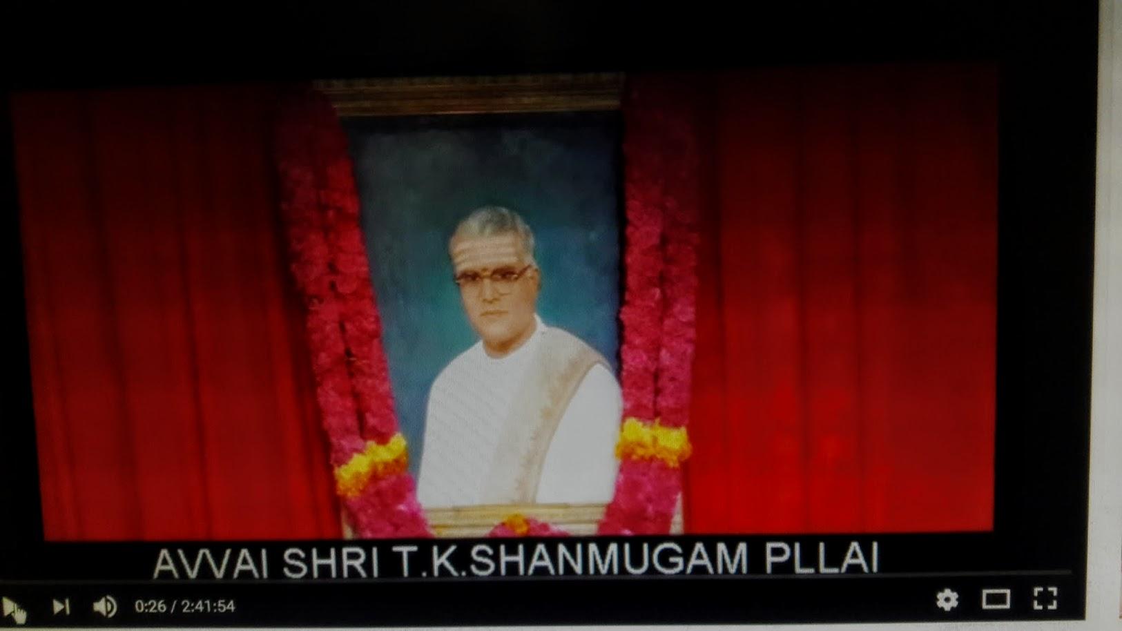T K Shanmugam, Dramatist (1986)
