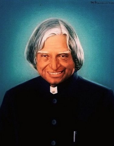 Sri. APJ Abdul Kalam, former president of India (1931 - 2015) - 2007